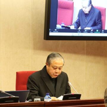 Bernardito Auza en la Asamblea Plenaria de la Conferencia Episcopal