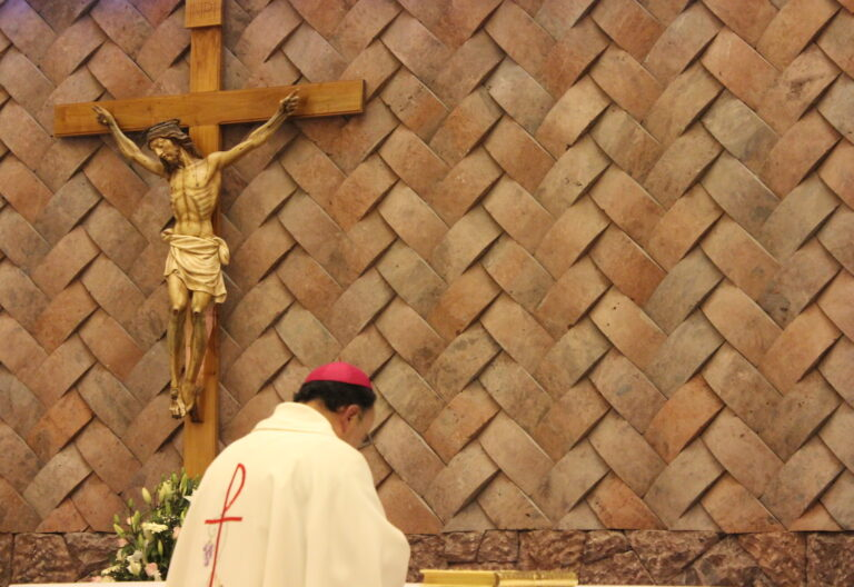 obispo y Jesucristo