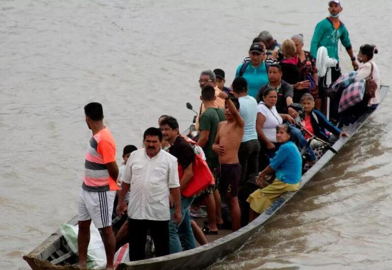 Crisis migratoria en la frontera colombo-venezolana