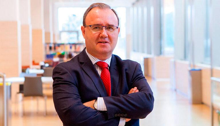 Enrique Sanz, rector de la Universidad Pontificia Comillas