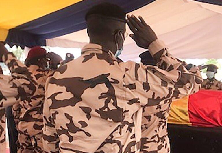 funeral presidente de chad
