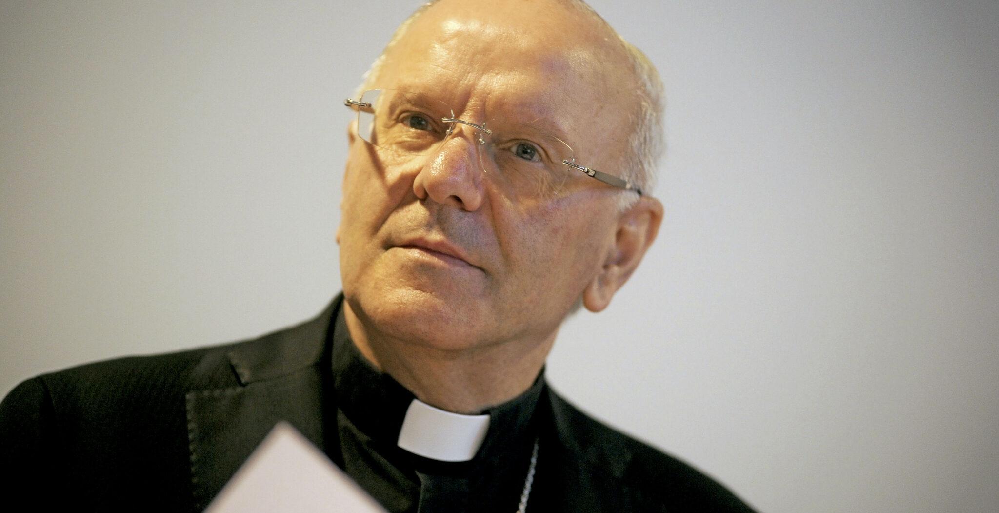 Nunzio Galantino, presidente de la Administración del Patrimonio de la Sede Apostólica