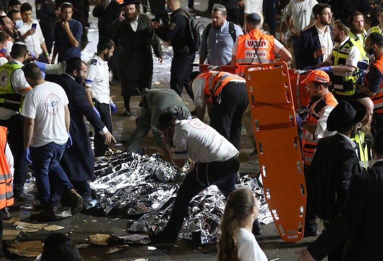 Al menos 44 muertos en la estampida humana en una fiesta judÌa en Israel