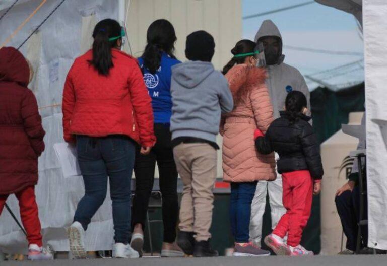 migrantes frontera con Estados Unidos