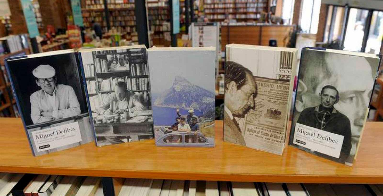 Miguel Delibes. Libros