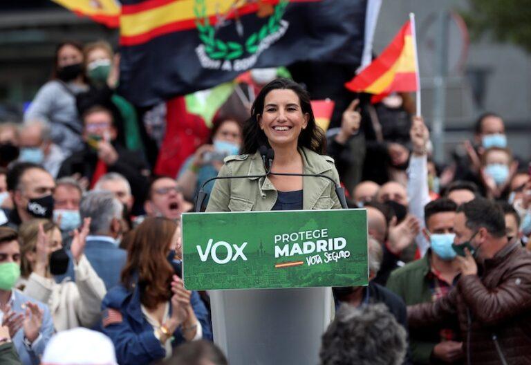 Rocio Monasterio campaña madrid