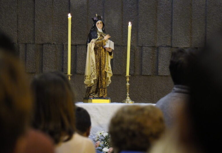 Imagen de santa Teresa de Jesús en Valladolid