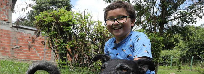 Francisco, el niño activista más joven de Colombia