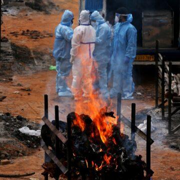 Cremación en la India