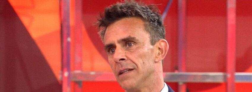 El presentador Alonso Caparrós
