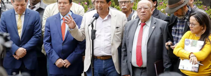 Comité del paro nacional en Colombia