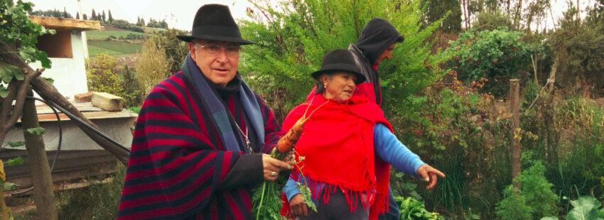 Julio Parrilla, ya obispo emérito de Riobamba (Ecuador)