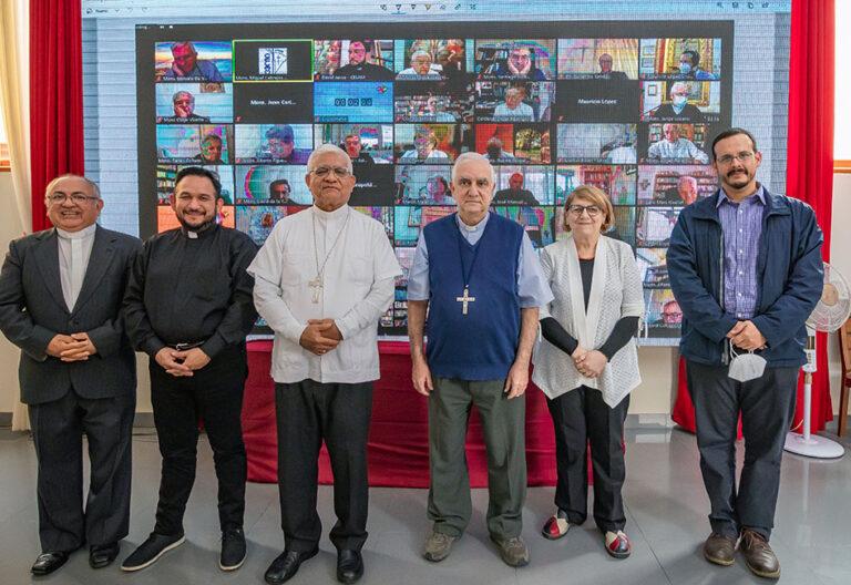 Parte de la directiva del Celam se ha reunido de manera presencial en Trujillo, Perú