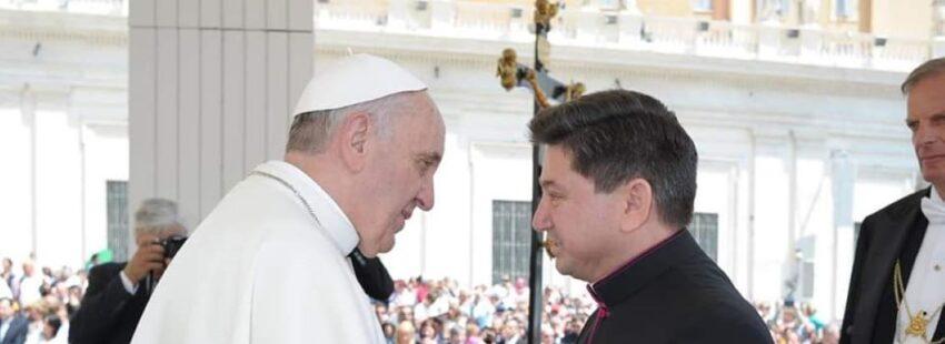 Fermín Sosa y el Papa