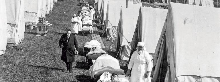 Primera Guerra Mundia. Gripe española