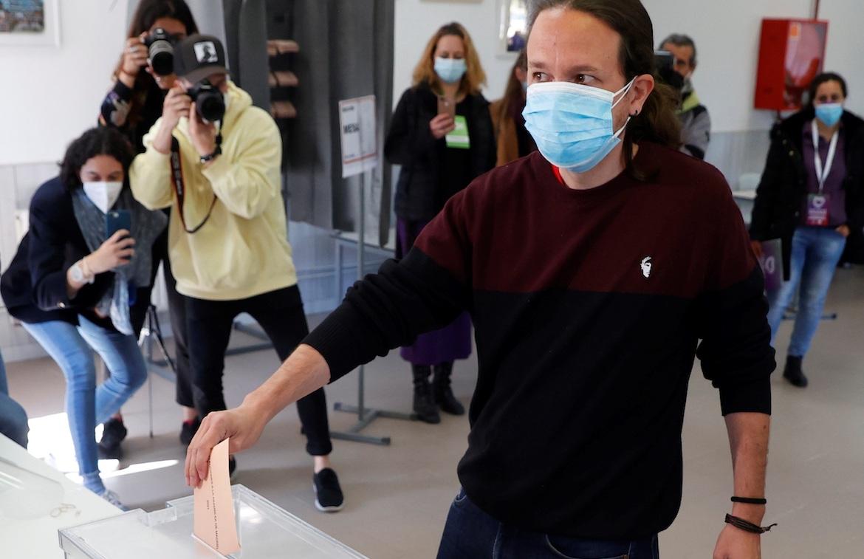 Pablo Iglesias voto