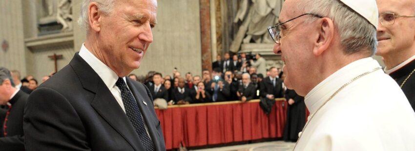 Papa y Biden