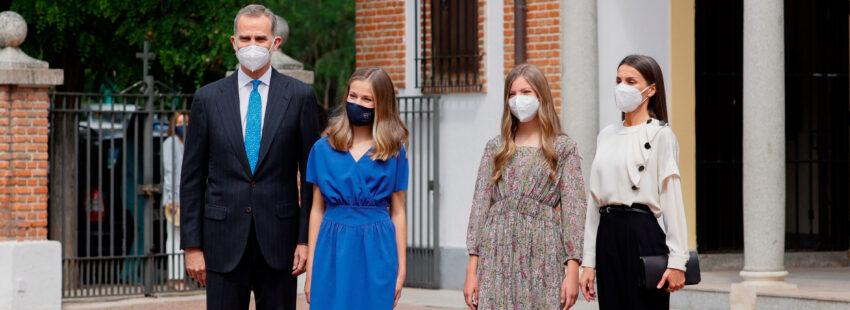 Confirmación princesa de Asturias Leonor