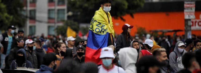 10 dias de protestas en Colombia