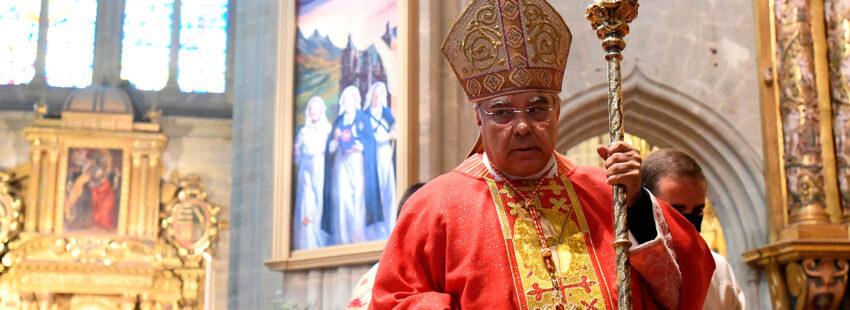 Marcello Semeraro en la beatificación de las mártires de Astorga