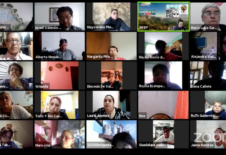 taller iniciación cristiana en Zoom