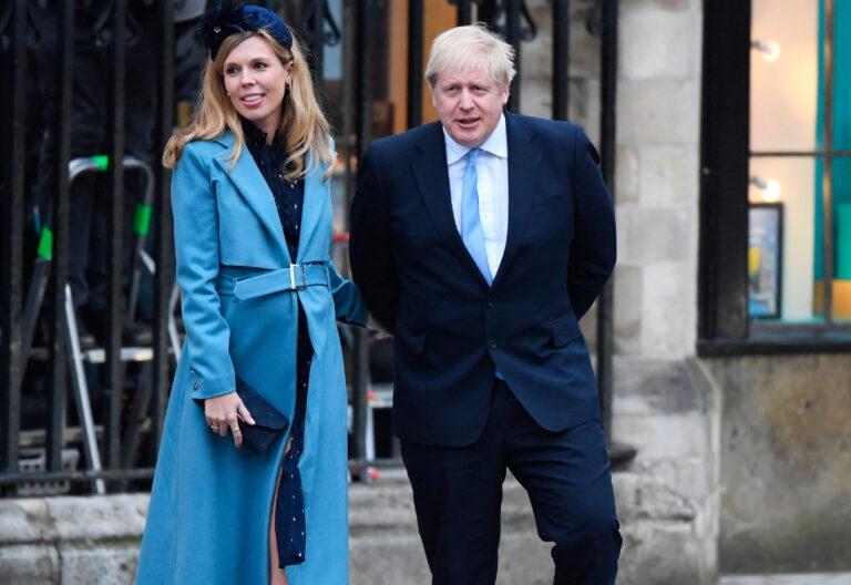 Boris Johnson y Carrie Symonds, convertidos ya en marido y mujer, el pasado 29 de mayo