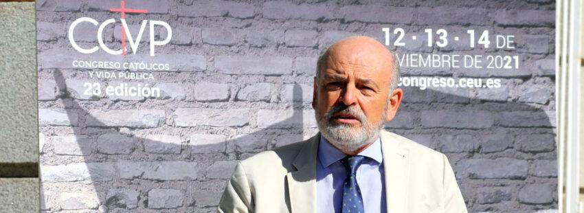 Rafael Sánchez Saus, director del Congreso Católicos y Vida Pública