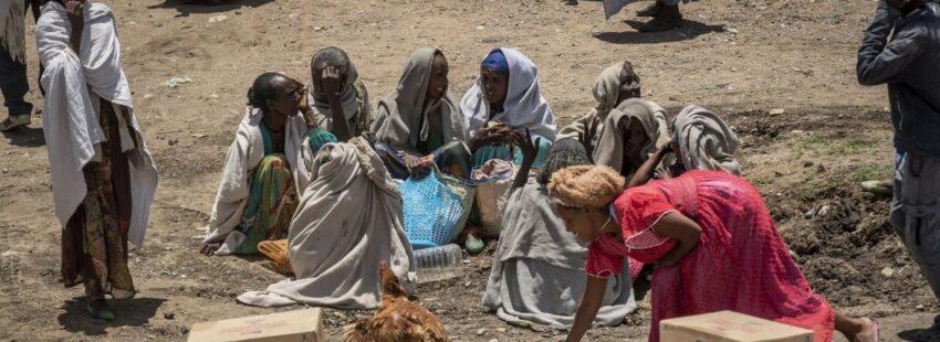 Tigray ayuda humanitaria