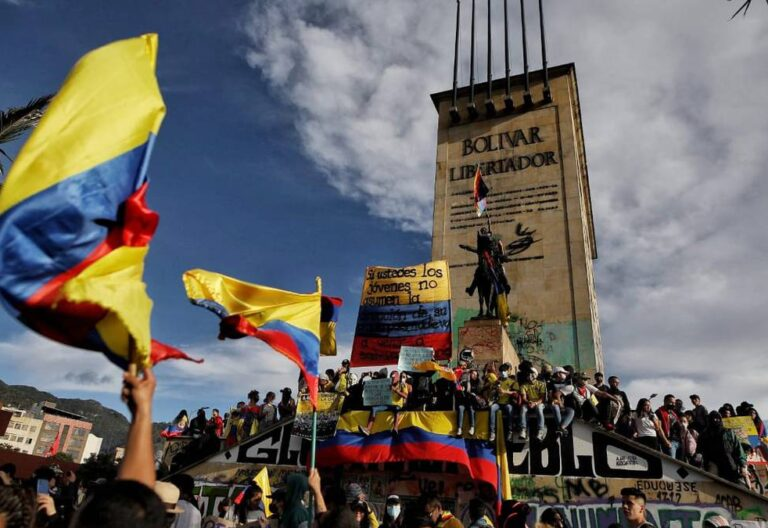 Protestas llevan más de un mes en colombia