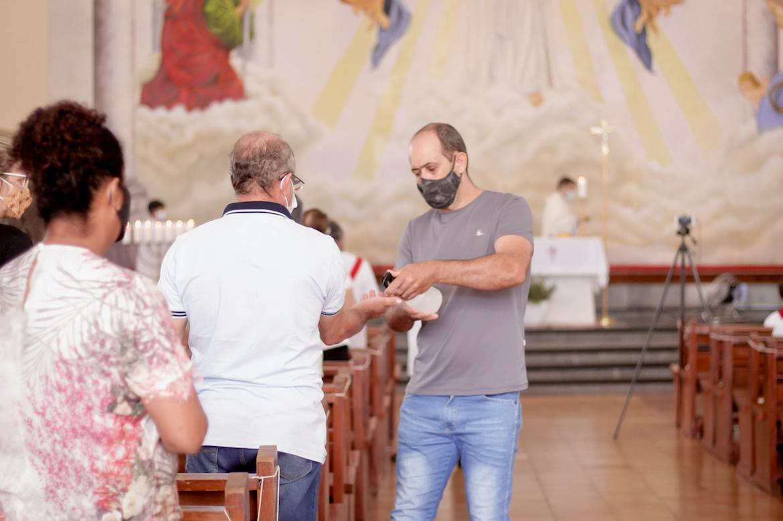 en la parroquia