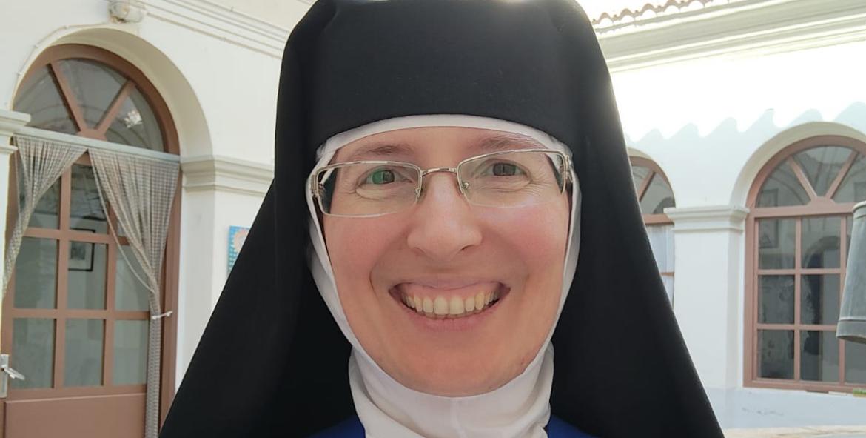 La madre Encarnación Más Bonet, abadesa del Monasterio de la Inmaculada de la localidad alicantina de Onil