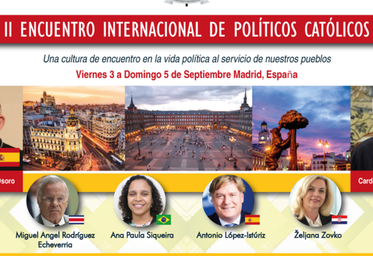 Líderes católicos del mundo se encontrarán en España
