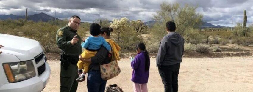 Border Patrol y migrantes