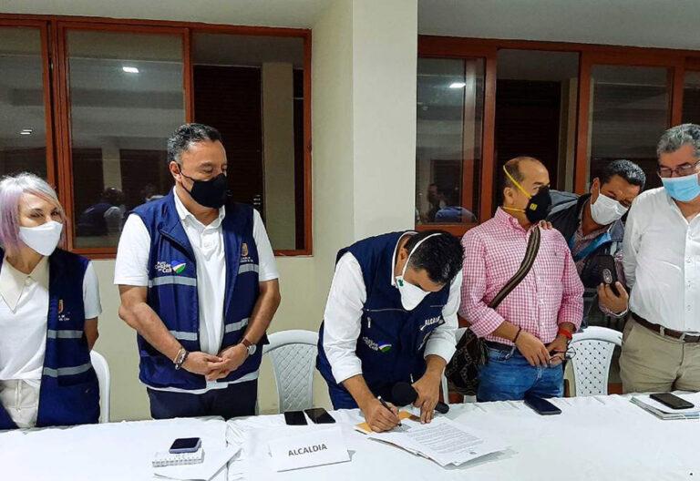Los diálogos entre el Gobierno y comité del paro en Colombia avanzan