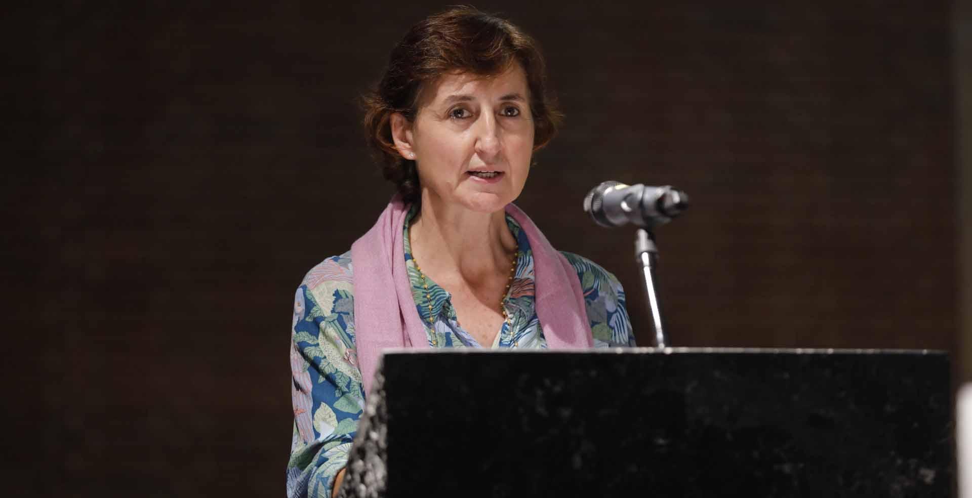 Raquel Pérez Sanjuan, directora de la Comisión para la Educación y Cultura de la CEE