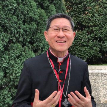 El cardenal Tagle participa de evento con red Clamor