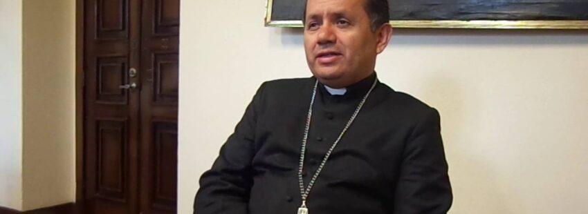 Vicente Danilo Echeverría asume como administrador apostólico de Tulcán