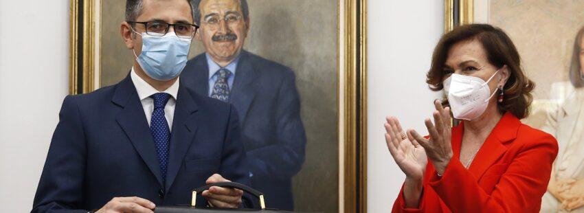 Félix Bolaños toma posesión