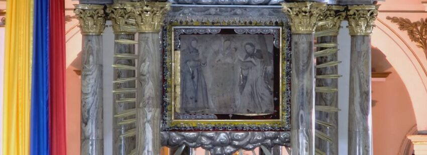 La Virgen de Chiquinquirá, patrona de Colombia, fue entronizada en el Vaticano