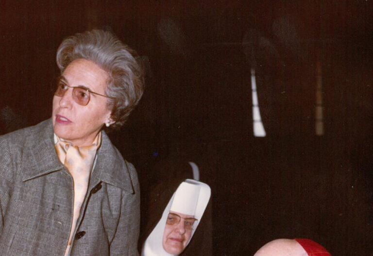 Pilar Bellosillo en el Concilio