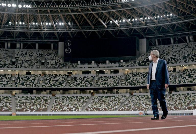 El presidente del Comité Olímpico Internacional