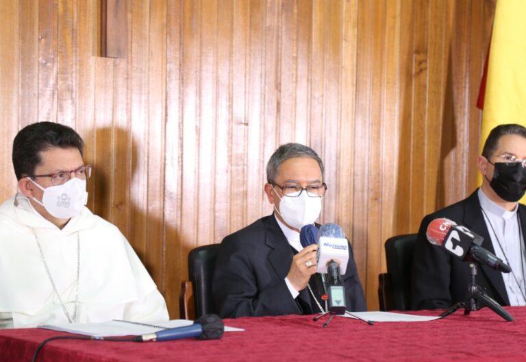 La recién electa directiva de los obispos de Colombia
