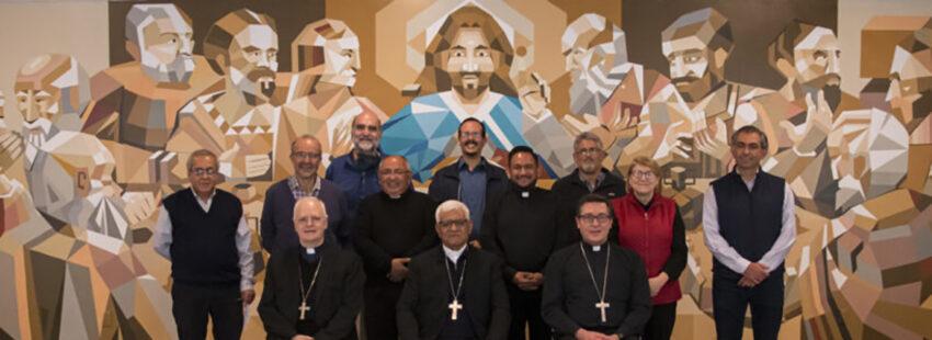 Tren ejecutivo del Celam se reúne en México