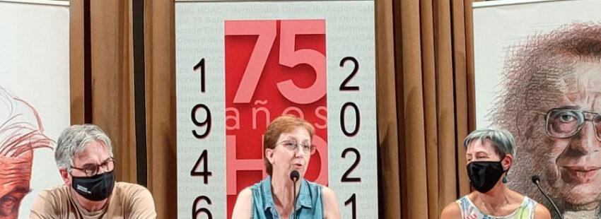 Maru Megina, presidenta de la HOAC