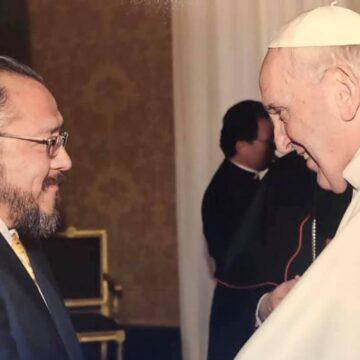 Rodrigo Guerra y el Papa