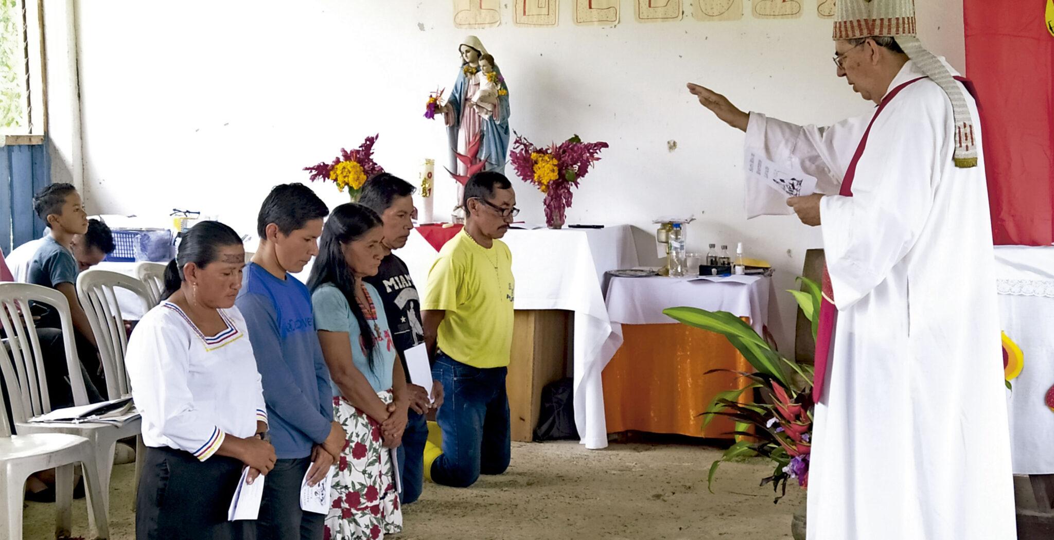 Rafael Cob, obispo del vicariato ecuatoriano de Puyo