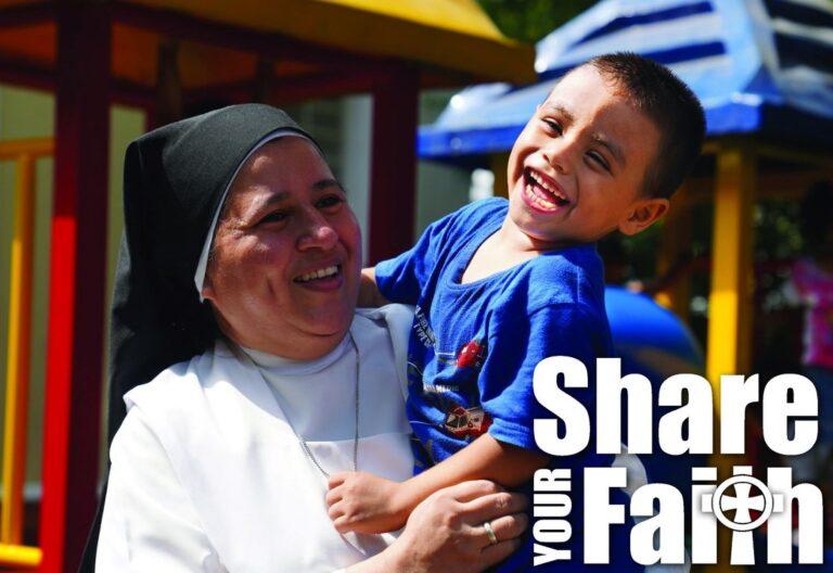 religiosa -campaña por Latinoamérica