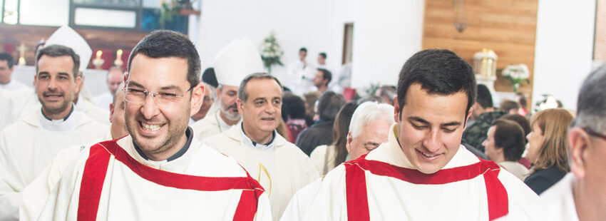 Con la fiesta de San Lorenzo los diáconos celebran su dia