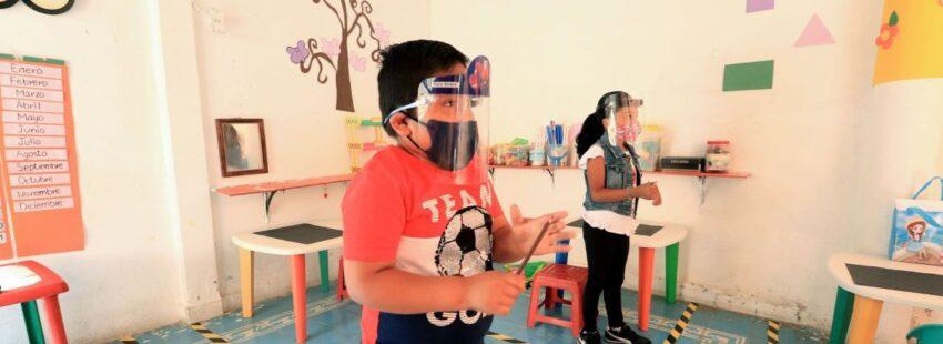 estudiantes en pandemia México