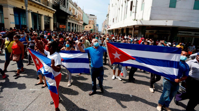 manifestaciones Cuba 2021